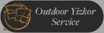 Outdoor Yizkor Service